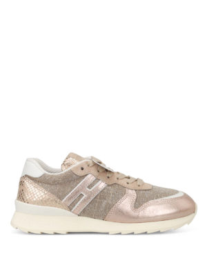 Hogan: trainers - R261 shimmering sneakers