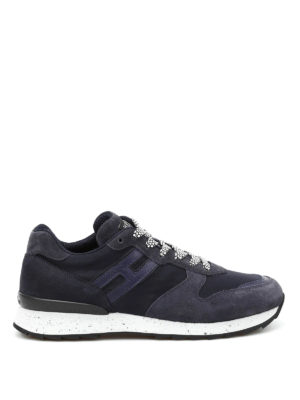 Hogan: trainers - R261 tech fabric low top sneakers