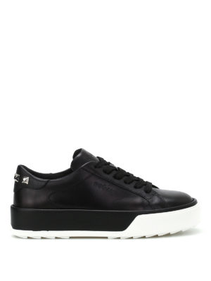 Hogan: trainers - R320 studded leather sneakers