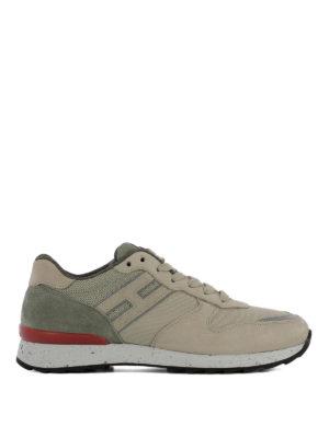 HOGAN: sneakers - Sneaker Running R261 in nabuk