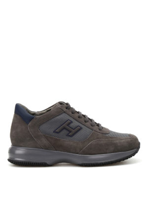 Hogan: trainers - Suede and fabric New Interactive