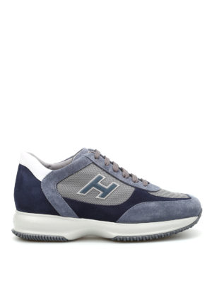 Hogan: trainers - Suede and nylon New Interactive