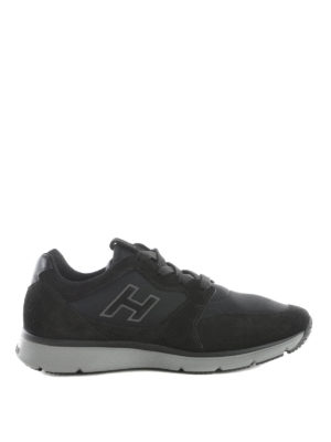 Hogan: trainers - Suede and scuba Traditional 20:15
