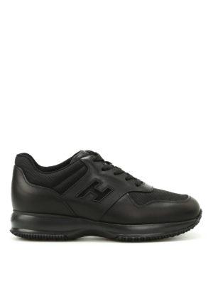 Hogan: trainers - Total black Interactive sneakers
