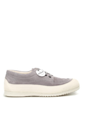 Hogan: trainers - Traditional H258 grey nubuck shoes