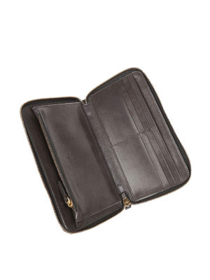 Hogan: wallets & purses online - Vintage effect leather wallet