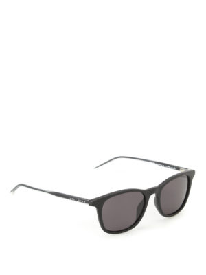 Hugo Boss: sunglasses - Matte frame squared sunglasses