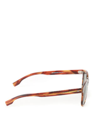 Hugo Boss: sunglasses online - Dark lenses tortoise sunglasses