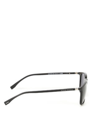 Hugo Boss: sunglasses online - Squared lenses black sunglasses