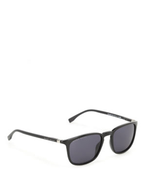 Hugo Boss: sunglasses - Squared lenses black sunglasses