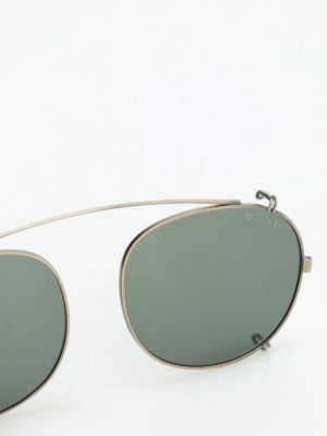 iKRIX Dita: sunglasses - Ash temple-less clip on lenses