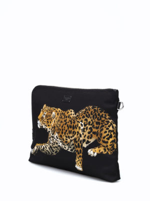 iKRIX Dolce & Gabbana: clutches - Leopards print nylon clutch