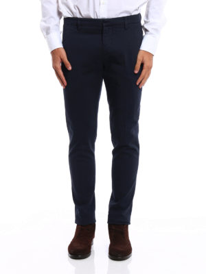 iKRIX Dondup: casual trousers - Gaubert cotton drill chinos