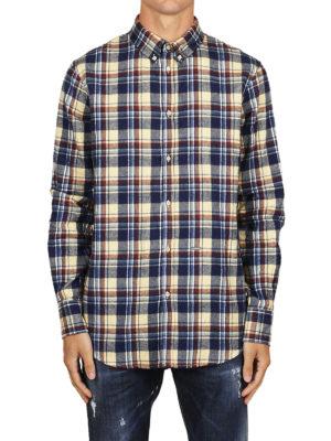 iKRIX DSQUARED2: camicie - Camicia b/d in cotone a quadri scozzese