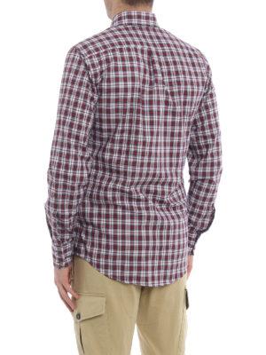 iKRIX Dsquared2: shirts - Tartan cotton b/d shirt