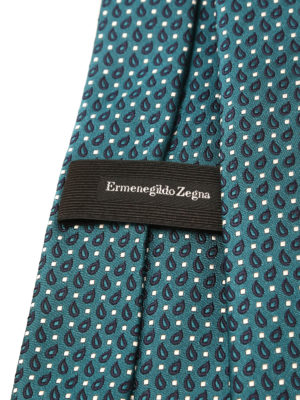 iKRIX Ermenegildo Zegna: ties & bow ties - Patterned silk tie