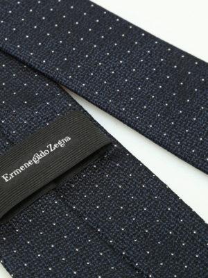 iKRIX Ermenegildo Zegna: ties & bow ties - Polka dot silk jacquard tie