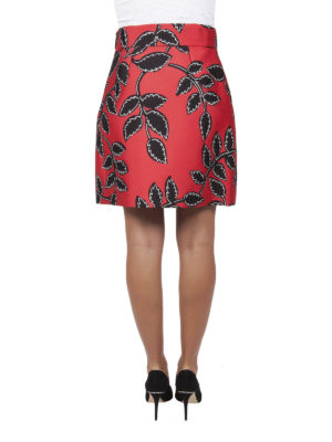 iKRIX M.S.G.M.: mini skirts - Floral patterned A-line skirt