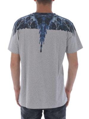 iKRIX Marcelo Burlon: t-shirts - Amell print cotton T-shirt