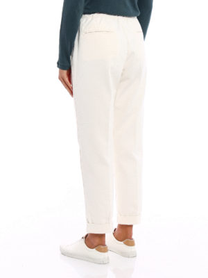 iKRIX Massimo Alba: casual trousers - Cotton and cashmere trousers