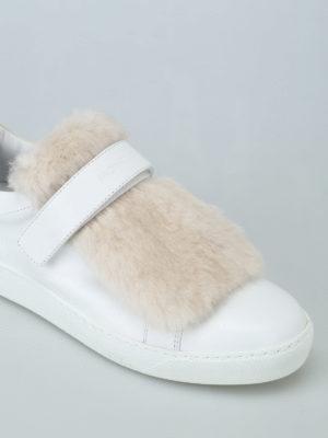 iKRIX MONCLER: sneakers - Sneaker Lucie in pelle e visone