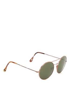 Illesteva: sunglasses - Delon round sunglasses