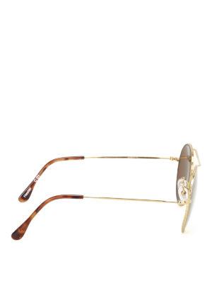 Illesteva: sunglasses online - Hester gold-tone metal sunglasses