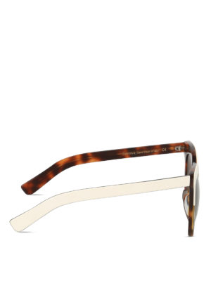 Illesteva: sunglasses online - Holly two-tone sunglasses
