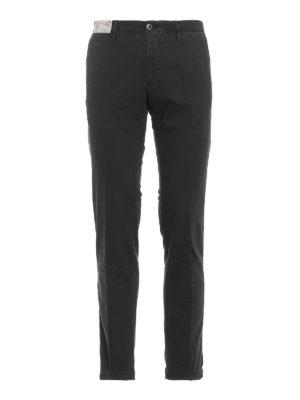 INCOTEX: pantaloni casual - Pantaloni Slacks grigio scuro