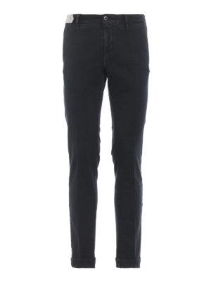 INCOTEX: pantaloni casual - Pantaloni Slacks grigi