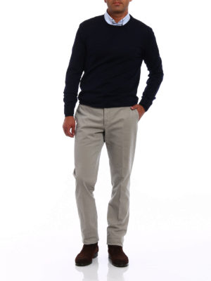 Incotex: casual trousers online - Comfort cotton slim fit chinos
