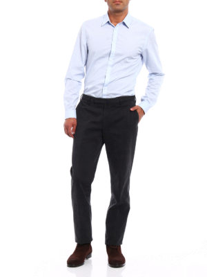 Incotex: casual trousers online - Cotton slim fit comfort chinos