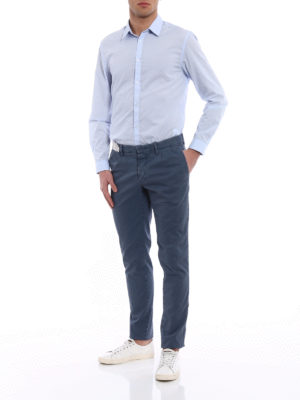 Incotex: casual trousers online - Slacks cotton trousers