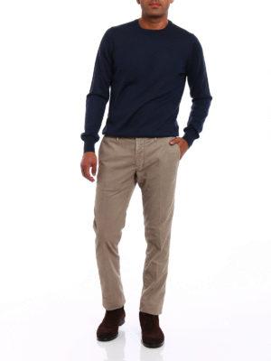Incotex: casual trousers online - Slacks soft cotton trousers