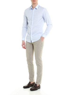 Incotex: casual trousers online - Slim fit cotton trousers