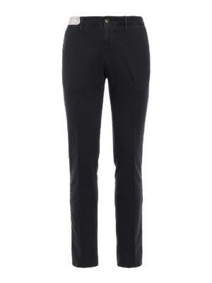 Incotex: casual trousers - Slacks skin fit trousers