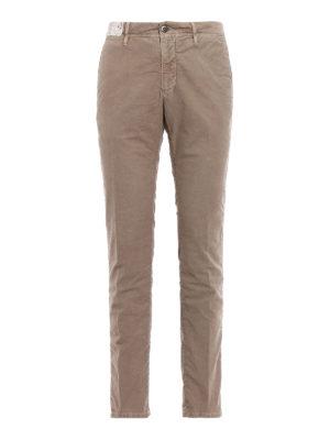 Incotex: casual trousers - Slacks soft cotton trousers