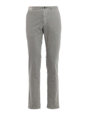 Incotex: casual trousers - Slacks straight leg cotton trousers