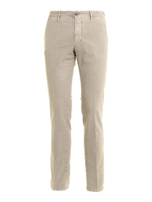 Incotex: casual trousers - Slim fit cotton trousers