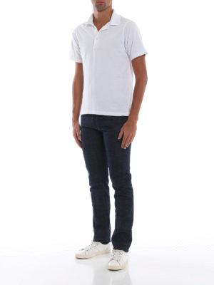 INCOTEX: jeans skinny online - Jeans Sky Slim color indaco