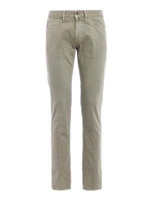 Incotex: straight leg jeans - Sky Slim five pocket jeans