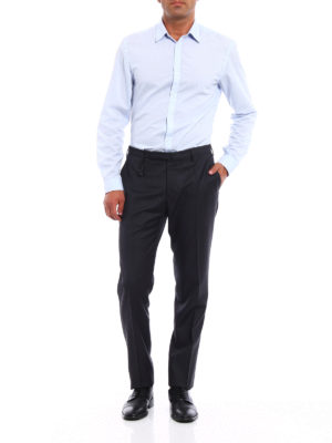 Incotex: Tailored & Formal trousers online - Super 100''s light wool trousers