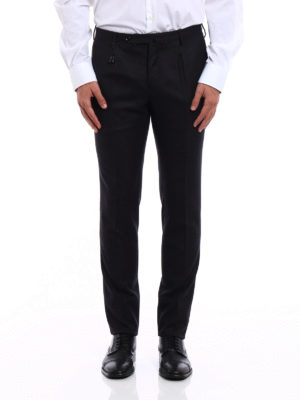 Incotex: Tailored & Formal trousers online - Super 120's wool classic trousers