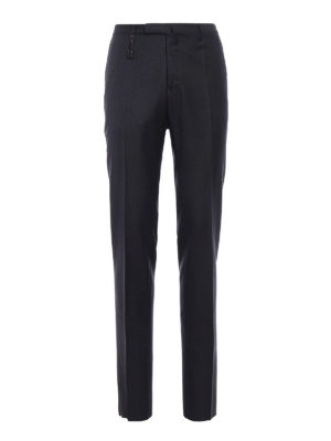 Incotex: Tailored & Formal trousers - Super 100''s light wool trousers