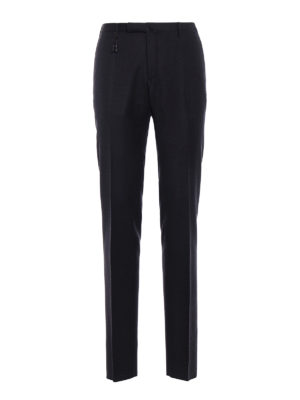 Incotex: Tailored & Formal trousers - Super 100''s wool trousers