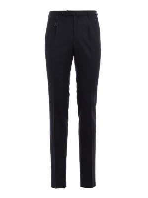 Incotex: Tailored & Formal trousers - Super 120's wool classic trousers