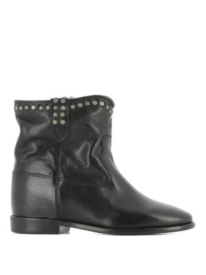 Isabel Marant: ankle boots - Cluster studded ankle boots