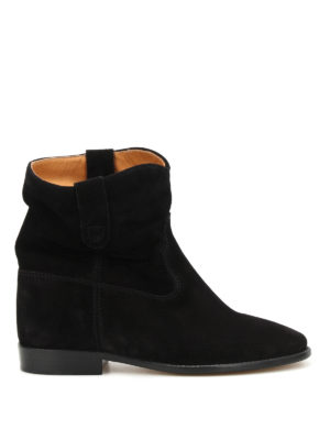 Isabel Marant: ankle boots - Crisi suede ankle boots