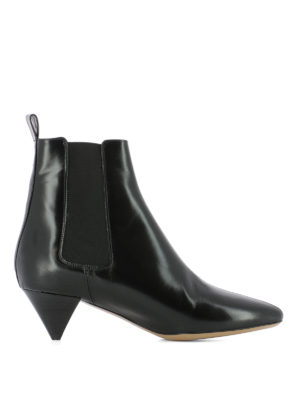Isabel Marant: ankle boots - Dawell Cuban heel ankle boots