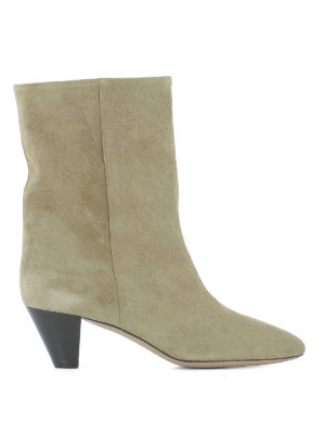 Isabel Marant: ankle boots - Dyna suede booties